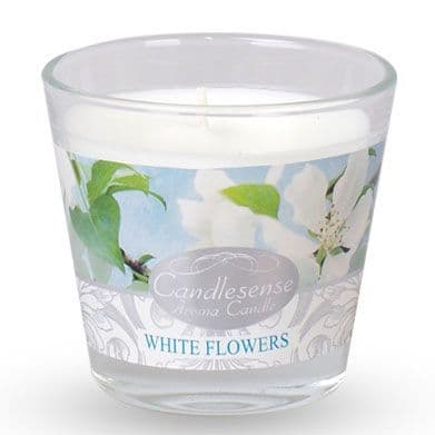 Scented Jar Candle - White Flowers